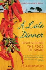 A late dinner - book cover