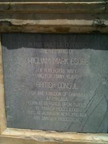 William Mark's grave