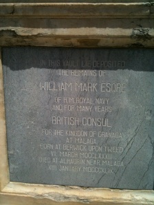 William Mark's grave
