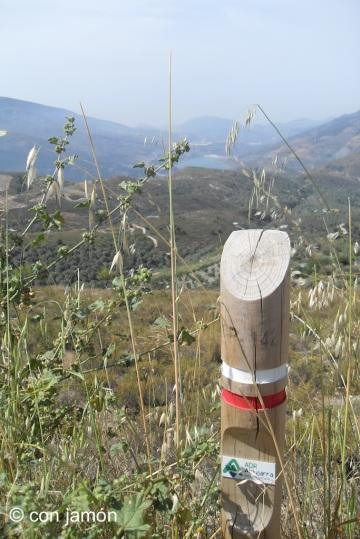 Alpujarras marker post