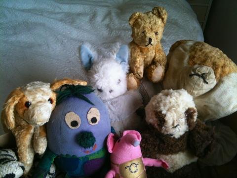 Cuddly toys
