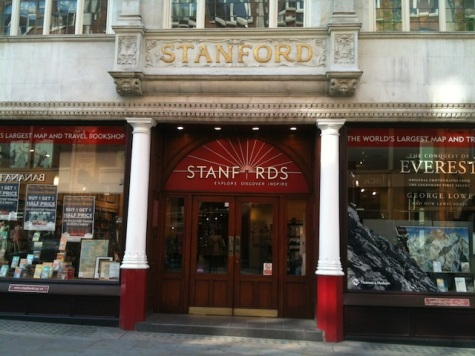 Standfords travel bookshop