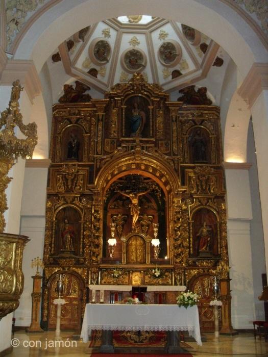 Orgiva church altar