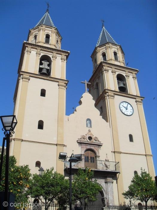 Orgiva church front