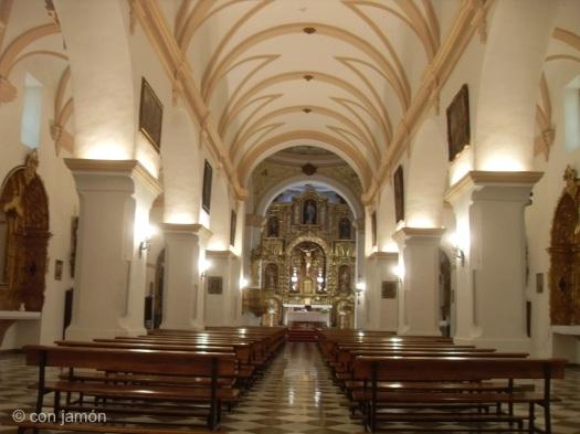 Orgiva church interior