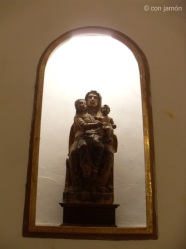 Orgiva church statue