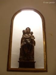 Orgiva church statue