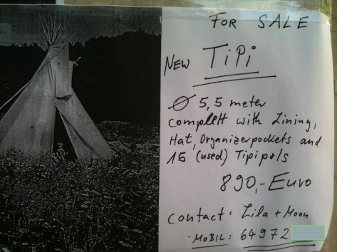 Tipi advert