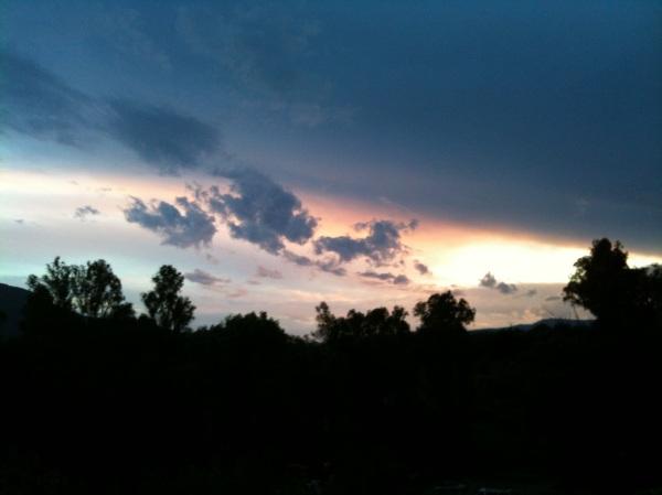Cloud that looks like a bull