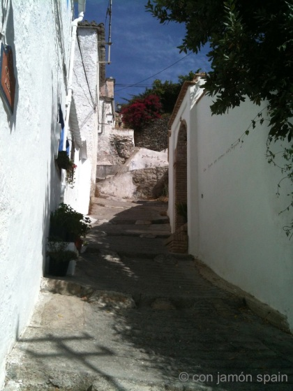Calle de la Iglesia in Bayacas