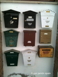 Postboxes in Bayacas