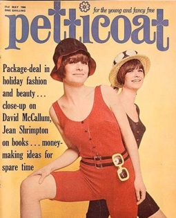 Petticoat magazine cover from 1966