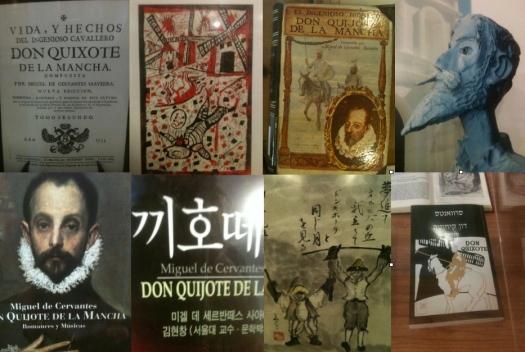 Don Quixote book covers