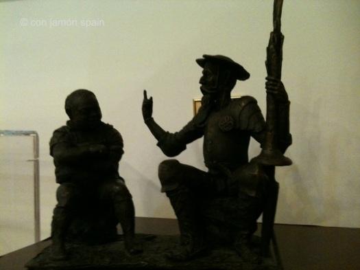 Don Quixote tatue