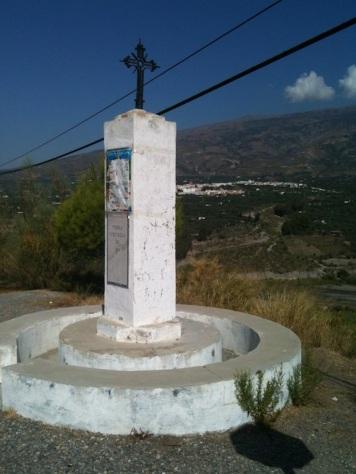 Los Tablones '1943' monument