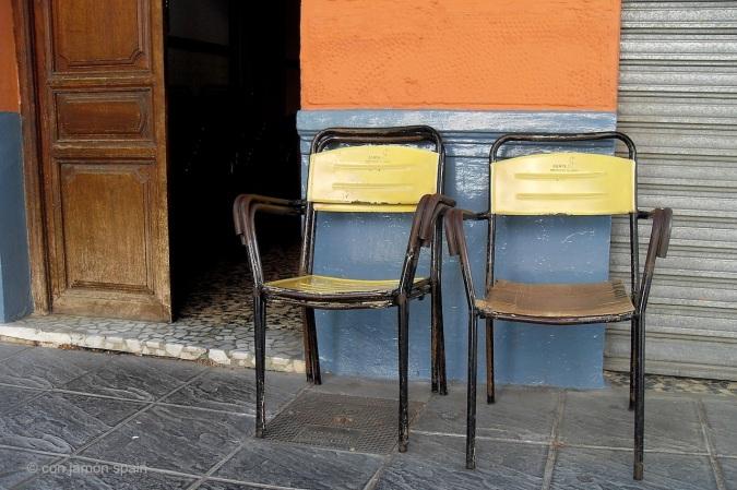 Chairs in Lanjaron