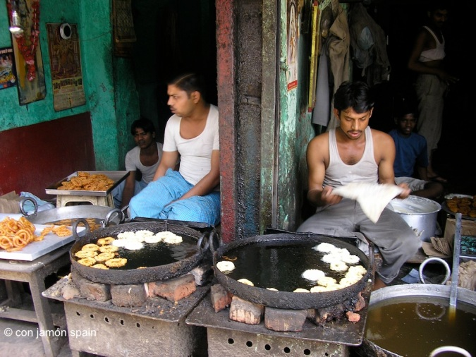Delhi street sellers