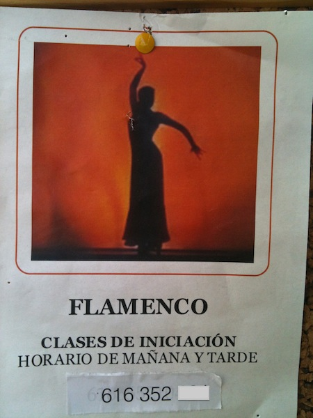 Flamenco classes