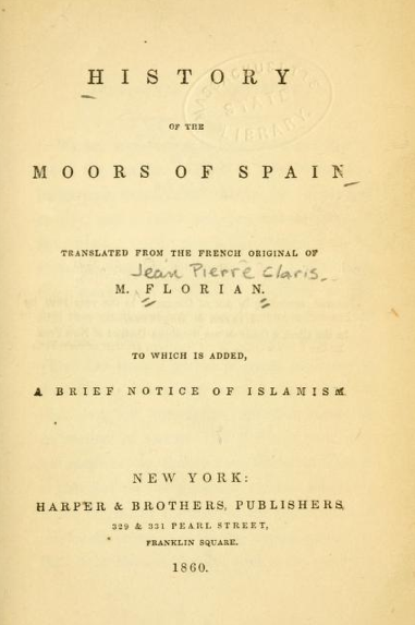 History_of_the_moors_of_Spain_Bookcover