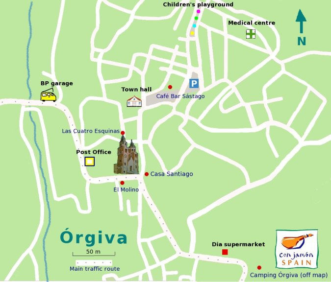 Orgiva tapas places