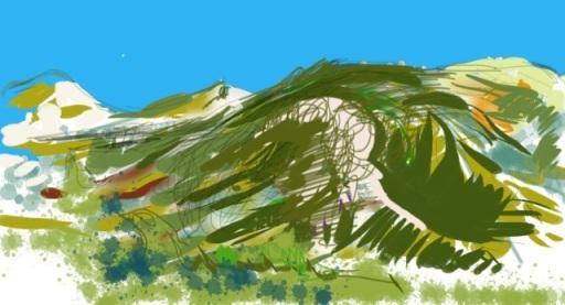 Sierra de Lújar sketch