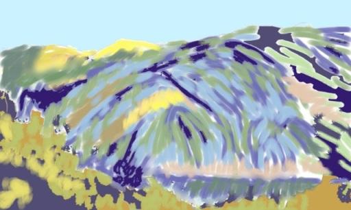 Sierra de Lujár sketch