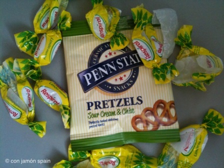 Pretzels and sweets
