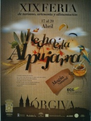 Made in La Alpujarra festival poster
