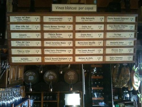 Casa de Vinos Granada wines