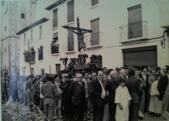 Orgiva church 1950s