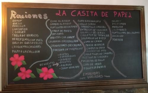 Casa de Papel blackboard