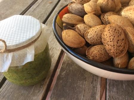 Almond pesto