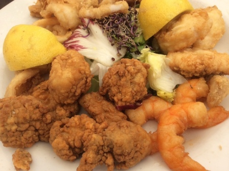 Los Manueles fish dish