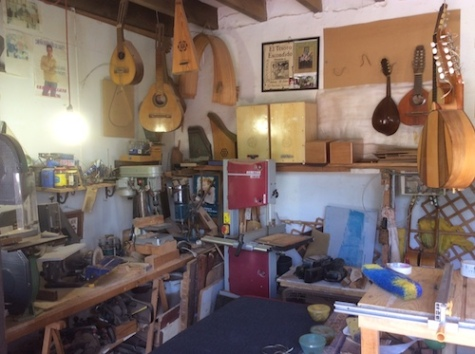 Guitar workshop in Almunecar