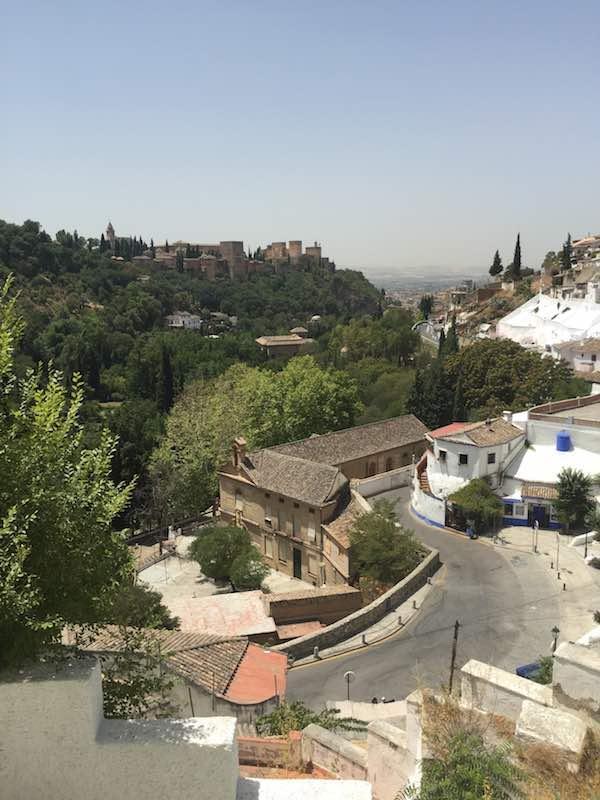 A walk to Sacromonte, Granada | con jamón spain