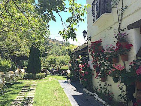 El Jardin de los Sabores, Capileira (the currymenu)